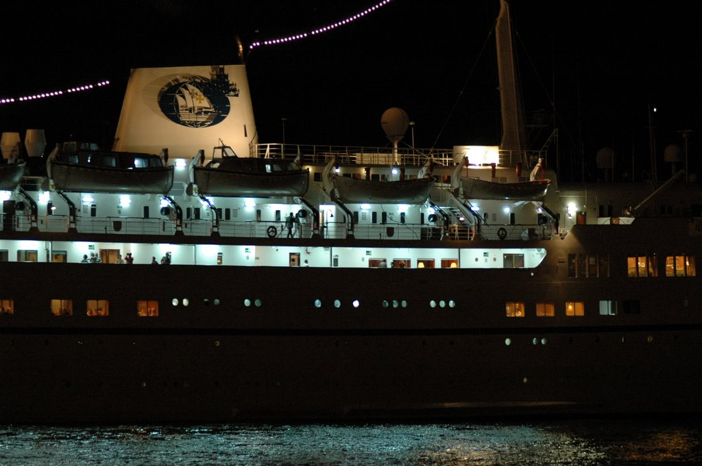 The cruise ship funchal in lisbon on 27 08 2006 pictured by lus