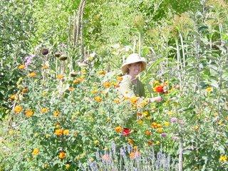 Marlie in Garden