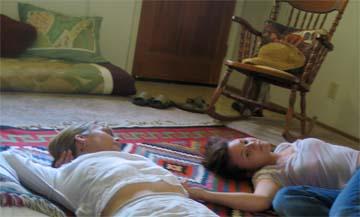 With one daughter, Sari