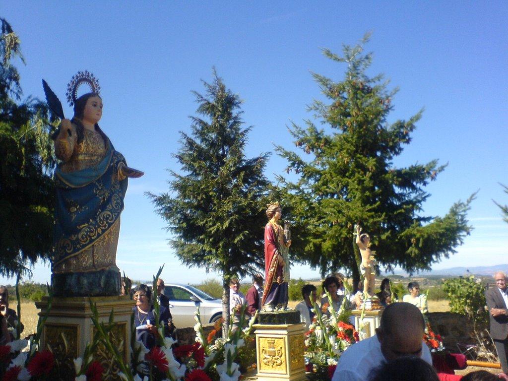 Festa de Santa Luzia em Caçarelhos