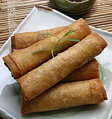 lumpia shanghai rolls