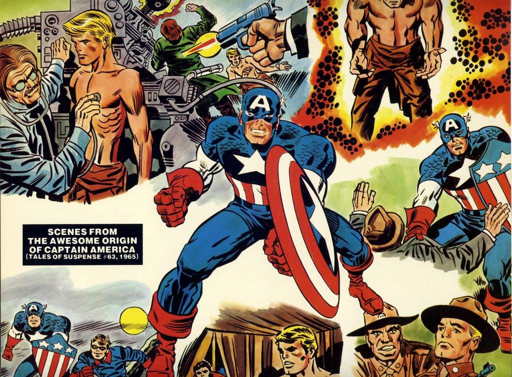 booksteve u0026 39 s library  captain america lives