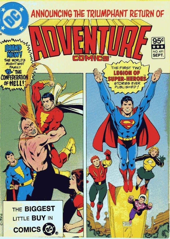 BOOKSTEVE'S LIBRARY: Adventure Comics Digest