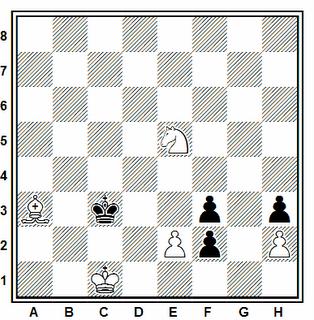 Problema ejercicio de ajedrez número 56: Estudio de A. A. Troitzky, 1928
