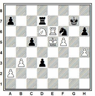 Problema número 127 en problemas de ajedrez