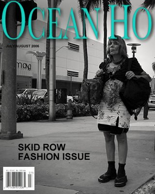 Ocean Ho Magazine Skid Row Fashion Issue