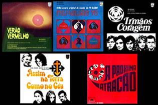 Capas das trilhas sonoras