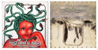 Capas dos dois discos do Grupo Medusa