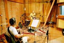 Lupa Santiago e Carlos Ezequiel no estúdio
