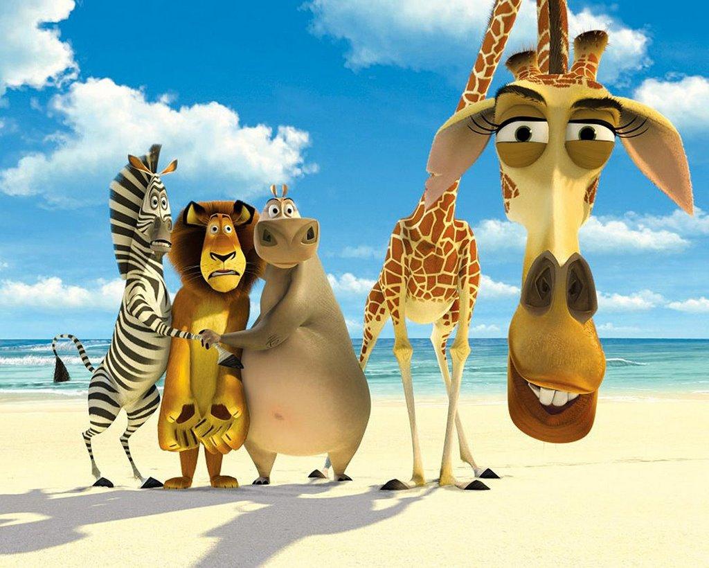 Movies Dreamworks Madagascar 2005 Vs Disneys The Wild 2006