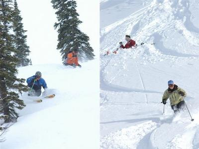 Ski Partners at Chatter Creek
