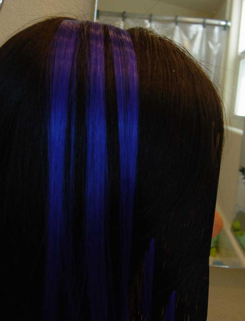 Blue Hair Dye Pictures Of My Blue Hair Extensions