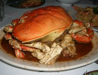 tamarind crab at Thanh Long