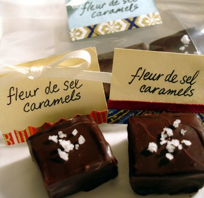 at least) one cool thing: fleur de sel caramels