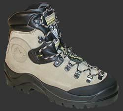a classic mountaineering boot by La Sportiva