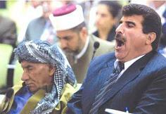 Kurds at a Parlimentary Session