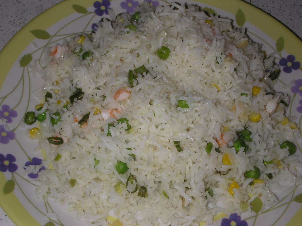 how to flavor white rice in rice cooker