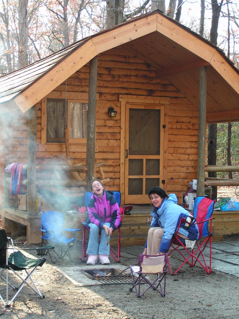 Regional Parks Think Cabins For Winter Camping Fun