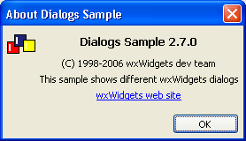 Generic About Dialog under Windows
