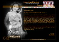 The official website of Tya Nabila