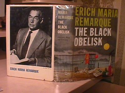 Cover of 'The Black Obelisk' by Erich Maria Remarque; source unknown