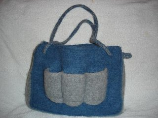 Preview This Free Crochet Pattern: Felted Diaper Bag