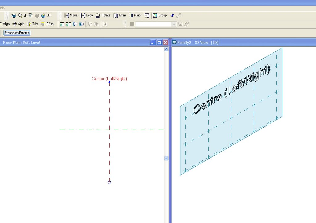 Revit Family Man Understanding Reference Planes And Work