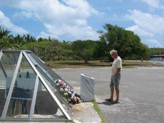 Atomic Bomb Pit on Tinian