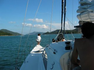 Cruising the Islands on a Comfortable Catamaran