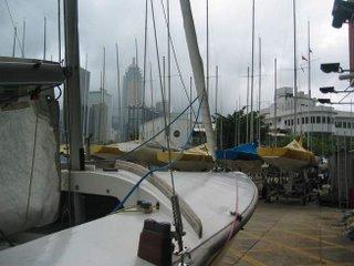 Flying 15 at Royal Hong Kong Yacht Club