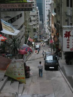 Steep Narrow Streets