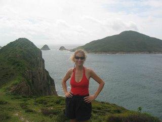 Wendy Hiking
