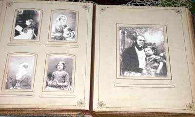 Photo Album at Down House, Bromley