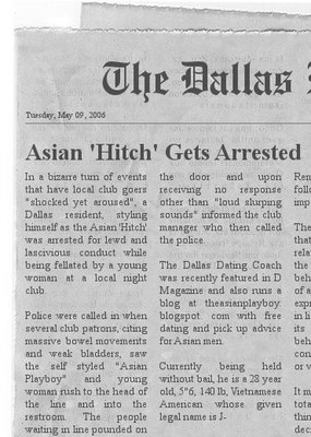 Asian Dating Coach Arrested!