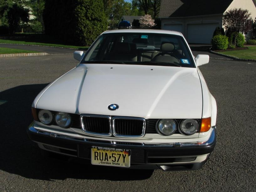 White 1994 BMW 740iL Great Condition