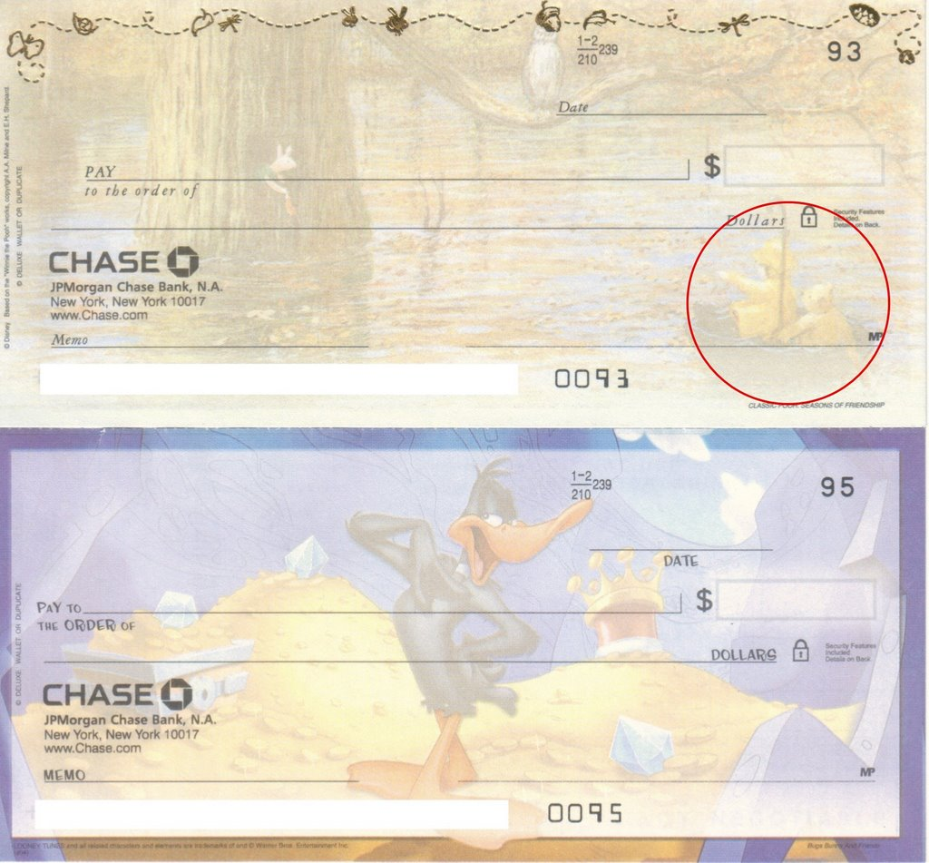 Checks for Chase Bank! Free Shipping - Plus - 2nd Box 77¢ and 4th Box Free* At Extra Value Checks you'll find a large selection of personal and business checks compatible with Chase Bank. We offer the highest quality checks, guaranteed to work with Chase - but .
