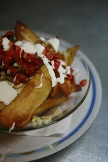 mexican potato wedges with salsa