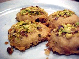 Khatai Cookies from Afghanistan
