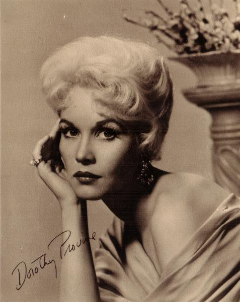 dorothy provine the great race