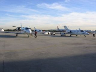Private Jets at Santa Monica Airport