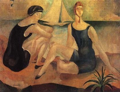 Almada Negreiros; As banhistas