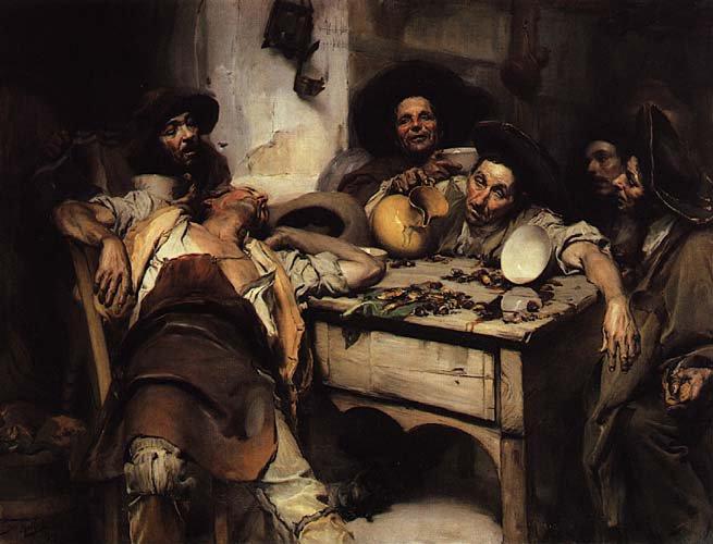 Os bêbados ou Festejando o S. Martinho