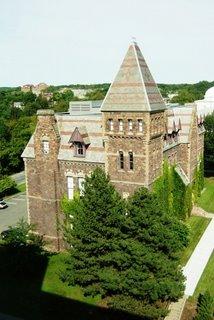 Näkymä Cornellin kampukselta