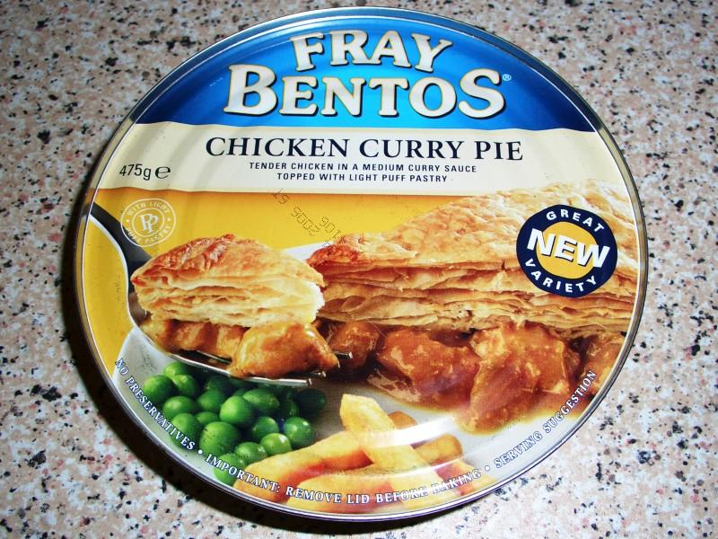 how to get fray bentos pie out of tin