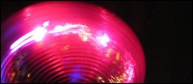 röd discokula