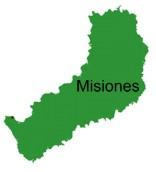 Map of Misiones