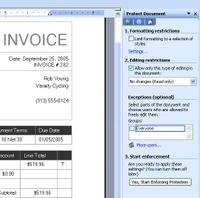 Emailing from Microsoft Small Business Accounting Software (SBA)