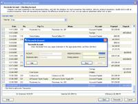 Microsoft Small Business Accounting Software (SBA) Reconciliation