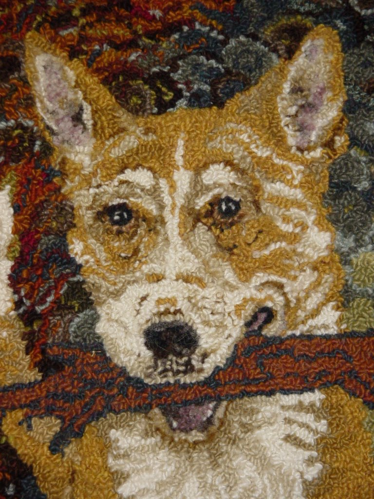 London-Wul Fibre Arts: RUG HOOKING