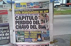 Nuevo titular de El Men explotando al Chavo
